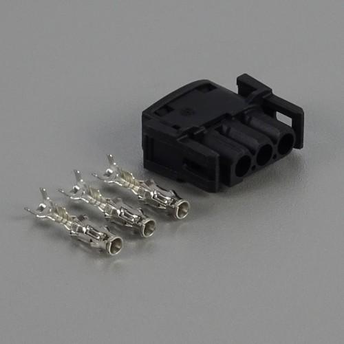 Sada konektoru 2.5 mm, 3 póly - zásuvka (samice)