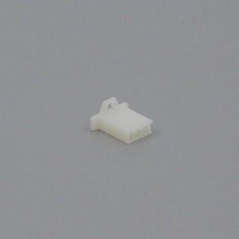 Pouzdro konektoru Faston 2.8 mm, 3 póly - zásuvka (samice)