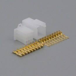 Sada konektoru Faston 2.8 mm, 9 pólů