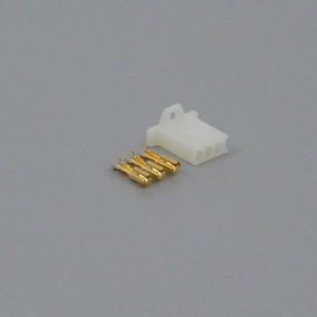 Sada konektoru Faston 2.8 mm, 3 póly - zásuvka (samice)