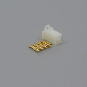 Sada konektoru Faston 2.8 mm, 4 póly - zásuvka (samice)