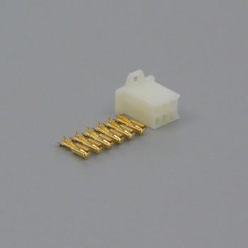 Sada konektoru Faston 2.8 mm, 6 pólů - zásuvka (samice)