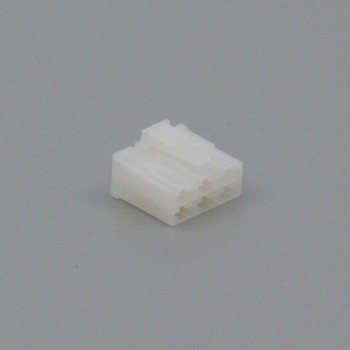 Pouzdro konektoru Faston 6.3 mm, Lance, 6 pólů - zásuvka (samice)