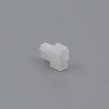 Pouzdro konektoru Faston 6.3 mm, Lance, 2 póly - vidlice (samec)