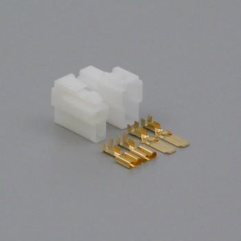 Sada konektoru Faston 6.3 mm, Lance, 2 póly