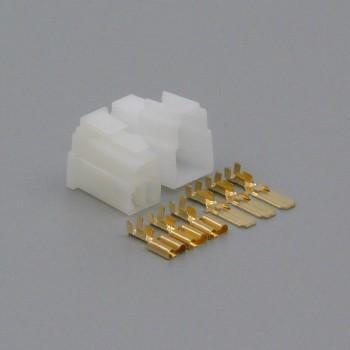 Sada konektoru Faston 6.3 mm, Lance, 3 póly