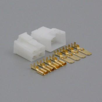 Sada konektoru Faston 6.3 mm, Lance, 4 póly