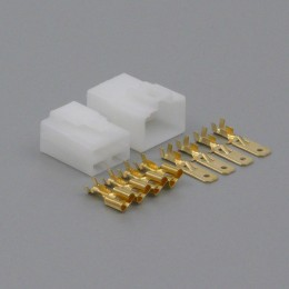 Sada konektoru Faston 6.3 mm, Special, 4 póly