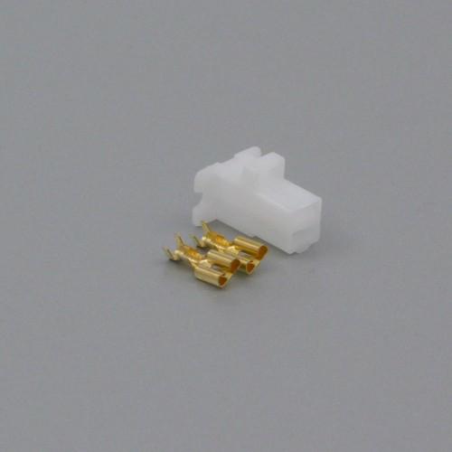 Sada konektoru Faston 6.3 mm, 2 póly - zásuvka (samice)