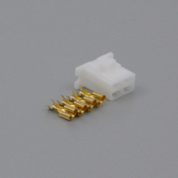 Sada konektoru Faston 6.3 mm, 4 póly - zásuvka (samice)