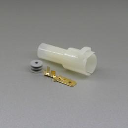 Sada vodotěsného konektoru 7.8 mm, 1 pól - vidlice (samec)
