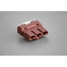 Pouzdro konektoru Faston 7.8 mm, 3 póly - zásuvka (samice)