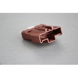 Pouzdro konektoru Faston 7.8 mm, 3 póly - vidlice (samec)