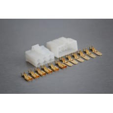 Sada konektoru Faston 6.3 mm, Lance, 6 pólů