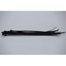 Stahovací páska, 3.6 mm, 200 mm, černá