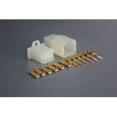 Sada konektoru Faston 2.8 mm, 6 pólů