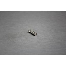 Pin kulatého konektoru Faston, 3.9 mm, dutinka (samice)