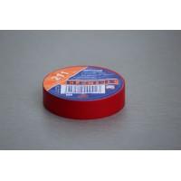 Izolační páska PVC, 15 mm, 10 m, červená