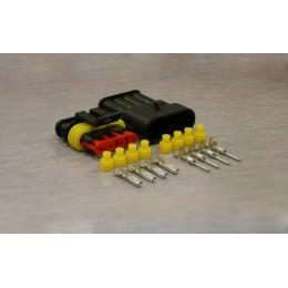 Sada vodotěsného konektoru Superseal 1.5 mm, 4 póly