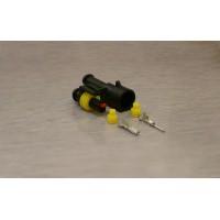 Sada vodotěsného konektoru Superseal 1.5 mm, 1 pól