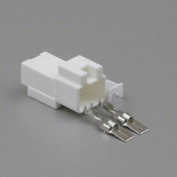 Sada konektoru 7.8 mm, 2 póly - vidlice (samec)