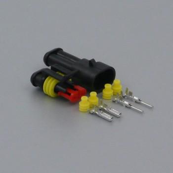 Sada vodotěsného konektoru Superseal 1.5 mm, 2 póly