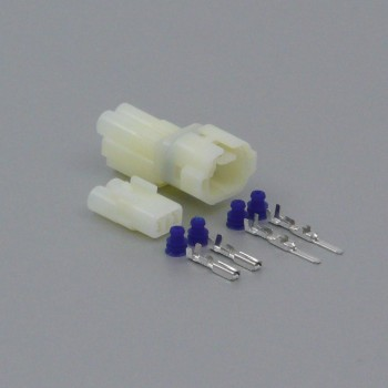 Sada vodotěsného konektoru 2.2 mm, 2 póly