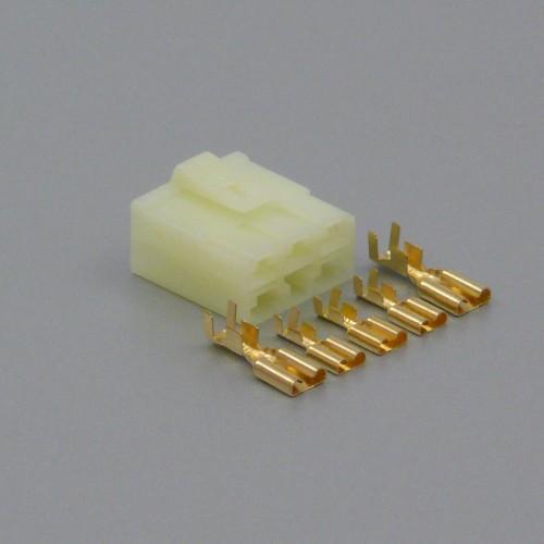 Sada hybridního konektoru 6.3 / 7.8 mm, 5 pólů - zásuvka (samice)
