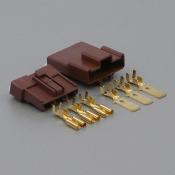 Sada konektoru Faston 7.8 mm, 3 póly