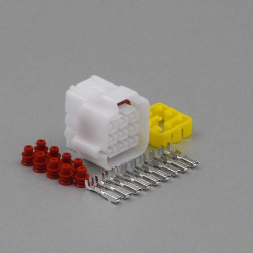 Sada vodotěsného konektoru 2.2 mm, 9 pólů - zásuvka (samice)